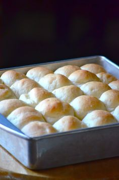 Heavenly Yeast Rolls