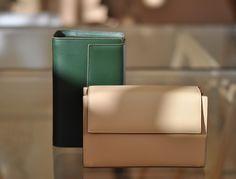 The Shorty George Green and Sand. www.lautemshop.com. #lautem # handbag #fashion #design