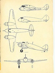 93 Best Aircraft Orthographic Projections images | Aircraft, Airplane, Airplanes