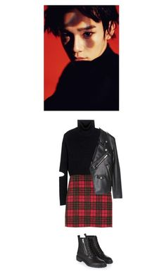 """""""#464"""" by morganavon ❤ liked on Polyvore featuring Public School and Topshop"""