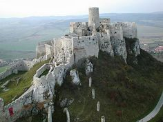 Spiš Castle ~ built in the 12th century on the site of an earlier castle. It was the political, administrative, economic and cultural centre of Szepes (Spiš) County of the Kingdom of Hungary.