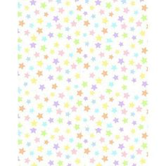 SheetWorld Fitted Cradle Sheet - Pastel Colorful Stars Woven