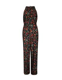 macacão floral, overall, full print, flowers, new in