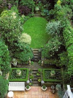 Amazing English Garden Landscaping Ideas Picture 4 Amazing English Garden Landscaping In 2020 Small Garden Design Courtyard Gardens Design Small Backyard Landscaping