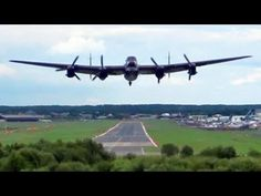 """"""" The Waving Bomb Aimer """" Lancaster Bomber Takeoff With Spitfire Lead. Rolls Royce Merlin, Lancaster Bomber, Air Show, Airplanes, Ww2, Spider, Transportation, Aviation, Aircraft"""