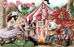 One Piece 538 - Page 22-Buggy's crew