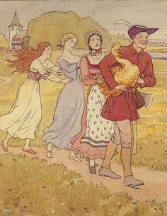 Golden Goose  by L. Leslie Brooke; This illustration came from:  The Golden Goose Book. London: Frederick Warne, 1905