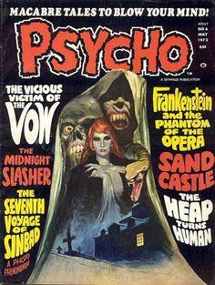 Psycho magazine! Some more good stuff!!