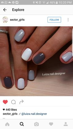 Classy Nails, Stylish Nails, Simple Nails, Trendy Nails, Dream Nails, Love Nails, Pink Nails, Nagellack Design, Nagellack Trends