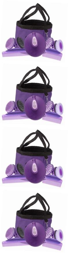 Grooming Brushes 183399: Palm Grip Groom (8-Piece), Purple -> BUY IT NOW ONLY: $46.01 on eBay!