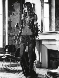 Freja Beha Erichsen By Fred Meylan For Glamour France August 2014
