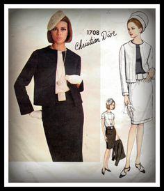 Sewing Pattern Vintage 1960s Mod Vogue by mmmsvintagepatterns