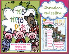 Reader's theater script for 3 pigs