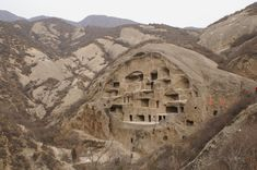 Guyaju - The intriguing house complex has more than 110 stone rooms, and is the largest cave dwelling ever discovered in China.