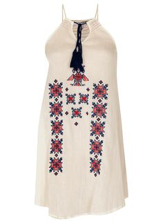 Star Mela Livvy Embroidered Sundress, $123; shoplesnouvelles.com   - ELLE.com
