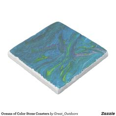 Oceans of Color Stone Coasters