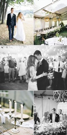 Intimate + Rustic Wedding in the Woods