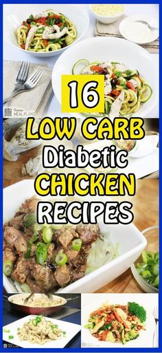 16 Amazing Low Carb Diabetic Chicken Recipes