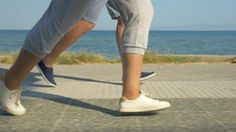 Legs Of Two Running People #Exercise, #Fitness, #Foot, #GreyCoastMedia, #Jog, #Leg, #Lifestyle, #People, #Run, #Sea, #SlowMotion, #Sneakers, #Sport, #Street, #Training, #Two http://goo.gl/J61f27