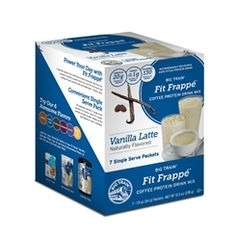 Vanilla Latte Fit Frappé Coffee Protein Drink Mix - Single Serve Packets