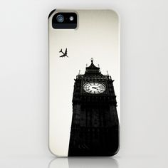 BIG BEN FLY iPhone Case by Kevin Spagnolo - $35.00