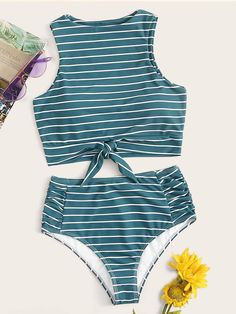 2020 Women Swimsuits Bikini Bathing Suits And Cover Ups Cotton Boxer Shorts Salt Beachwear Toddler One Piece Rash Guard Bathing Suits For Teens, Summer Bathing Suits, Cute Bathing Suits, Summer Swimwear, 2 Piece Swimsuits, Women Swimsuits, High Waisted Swimsuit Bottoms, Cute Swimsuits High Waisted, Bandeau Tops