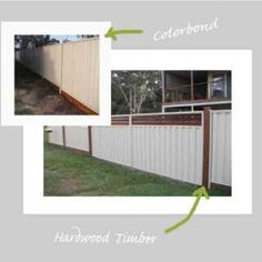Gates with timber breezeway and fencing Gold Coast QLD AU