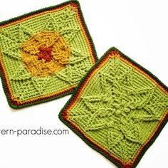 Free Crochet Pattern: Casablanca Crochet Square | Pattern Paradise Granny Square Crochet Pattern, Afghan Crochet Patterns, Crochet Squares, Crochet Motif, Free Crochet, Granny Squares, Crochet Blocks, Crochet Afghans, Crochet Blankets