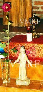 8 de abril de 2004 Historia Mariavita VMRF Jueves Santo Malva de la VMRF Revelaciones del Espíritu Santo Foto de Archivo VMRF. Arzobispado Iglesia Mariavita VMRF de habla hispana.