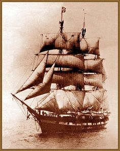 Anonymous Whaling ship - anybody who she is ?  Probably taken 1880s ? US ?