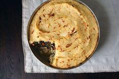 Vegan Lentil Shephard's Pie with Parsnip Potato Mash | 32 Vegan Recipes That Are Perfect For Thanksgiving