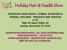 Wanted: Health, Wellness Exhibitors