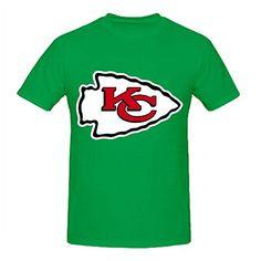 e5a303c8f NFL San Francisco Team Logo Crew Neck Men T Shirts Design Green - deal  furniture. KC ChiefsFan · Cool KC Chiefs ...
