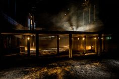 Tejas Verdes. The MAC, Belfast. Scenic and lighting design by Ciaran Bagnall. 2014