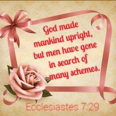 Ecclesiastes 7:29