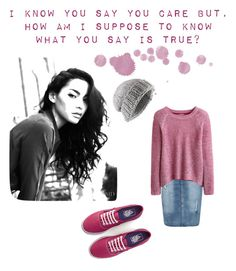 """""""Untitled #27"""" by alaskarsings ❤ liked on Polyvore featuring mode, Jigsaw, Boohoo et Vans"""