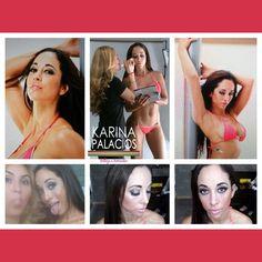Peinaeo y Maquillaje para Olinda Castañeda Realizada por Karina Palacios