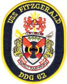 DDG-62 USS FITZGERALD PATCH
