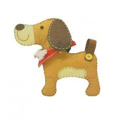 idea, dogs, felt crafts, doggi stuff, ribbon, craft set, felt puppi, felt dog, pie