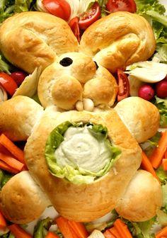 Come fare coniglio di pane