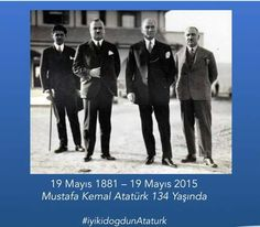 Canım Atatürk'üm, doğum günün kutlu olsun ♥♥♥