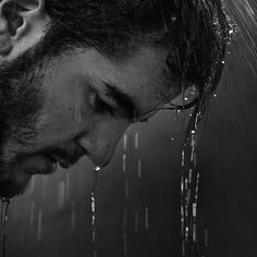 Cultivating Resilience: 5 Ways to Shore up for Life's Big Storms. Portrait Photography Men, Emotional Photography, Rain Photography, Boudoir Photography, Poses For Men, Male Poses, Power Of Your Love, Crying Pictures, Ugly Love