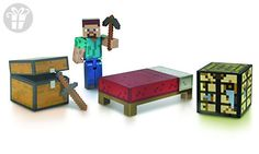Minecraft Core Player Survival Pack Action Figure (*Amazon Partner-Link)