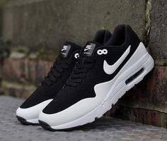 best cheap 6b539 4587a Authentic Nike Shoes For Sale Mens Nike Air Max 1 Ultra Moire Black White   Mens Nike Air Max 1 Ultra Moire Black White  -