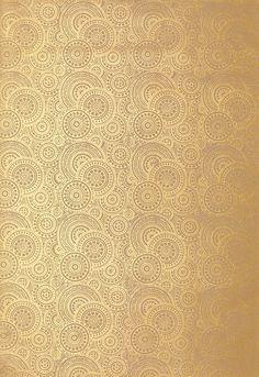 Wallcovering / Wallpaper | Sadari in Gilt | Schumacher