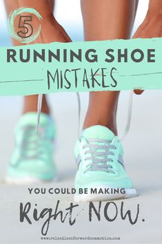As a running coach and former running store employee, my general observation has been that probably 75% of runners wear the wrong running shoe, and don't know it.  Unfortunately, probably half of those people were (or are) experiencing some sort of pain or discomfort associated with being in the wrong shoe.  So without further ado, let's discuss the top 5 running shoe mistakes I often see runners make. Best Running Shoes, Running Gear, Running Workouts, Running Sneakers, Running Club, Running Trainers, Yoga Workouts, Workout Routines, Weight Lifting Shoes