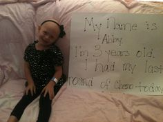 This is why I want to be a pediatric oncology nurse :)
