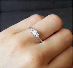 Unique Simple And Minimalist Engagement Ring You Want To https://bridalore.com/2017/12/15/simple-and-minimalist-engagement-ring-you-want-to/ #weddingring #ringsjewelry