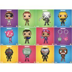 Pop Games : Fortnite - Set of 11 Vinyl Figure w/ 2 Pop Keychain Epic Games Fortnite, Funny Games, Pop Figures, Vinyl Figures, Pop Bobble Heads, Funny Gaming Memes, Epic Fortnite, Percy Jackson Fan Art, Simple Cartoon