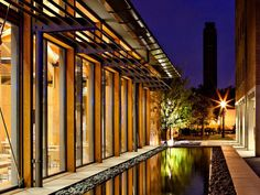 2012 AIA Housing Awards for Architecture: Specialized Housing- McMurtry & Duncan Colleges at Rice University in Houston, Texas; designed by Hanbury Evans Wright Vlattas + Company with Hopkins Architects